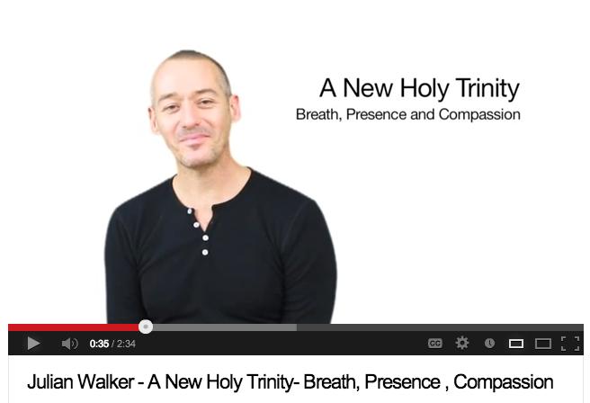 A New Holy Trinity- Breath, Presence, Compassion