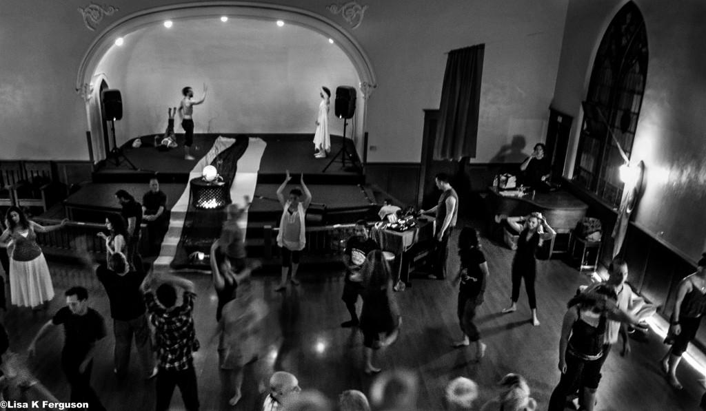 Church in Ocean Park —deep in the Dance Tribe zone!