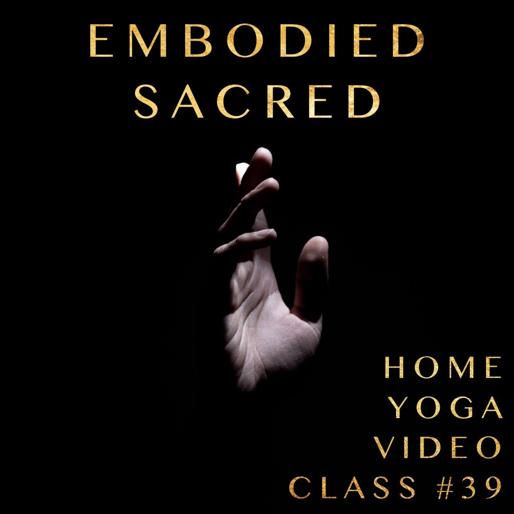 embodied sacred